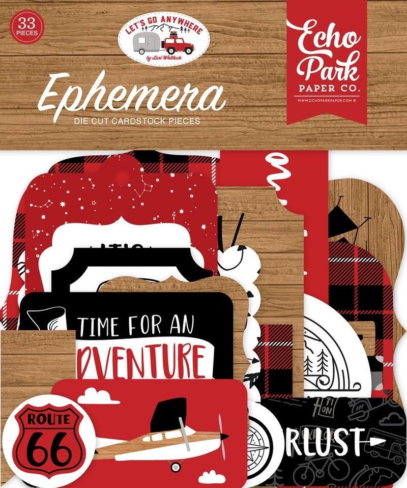 Let's Go Anywhere Travel Ephemera