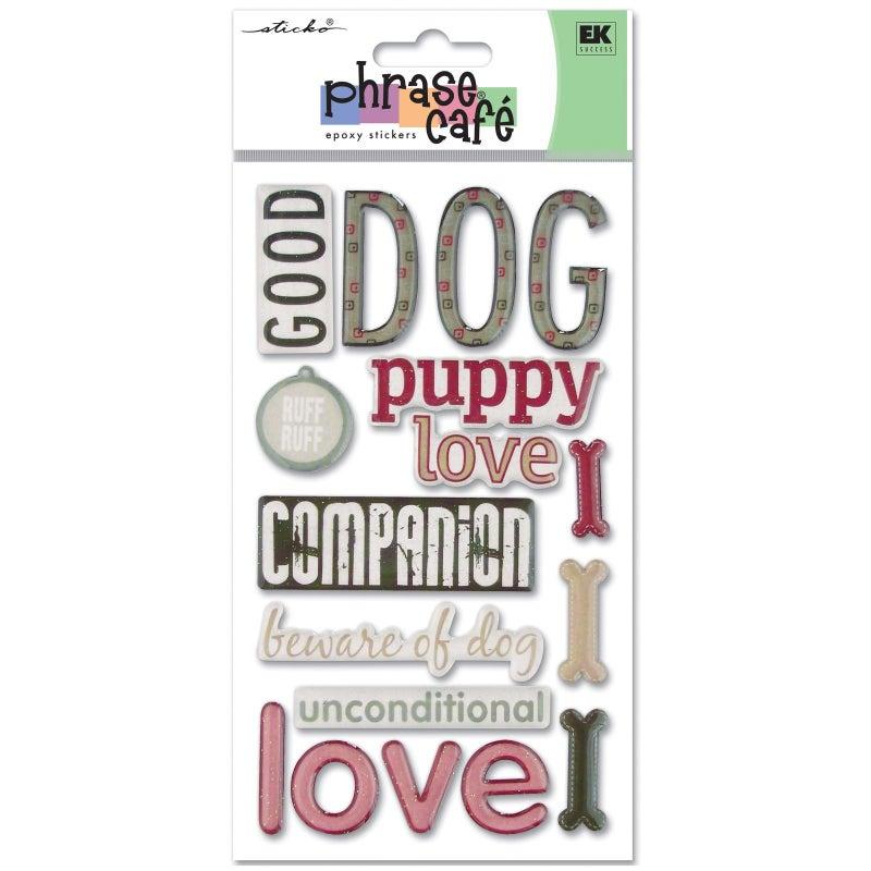 Dog Phrase Stickers