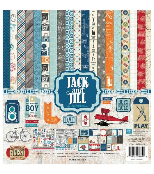 Jack & Jill Boy Paper Pack