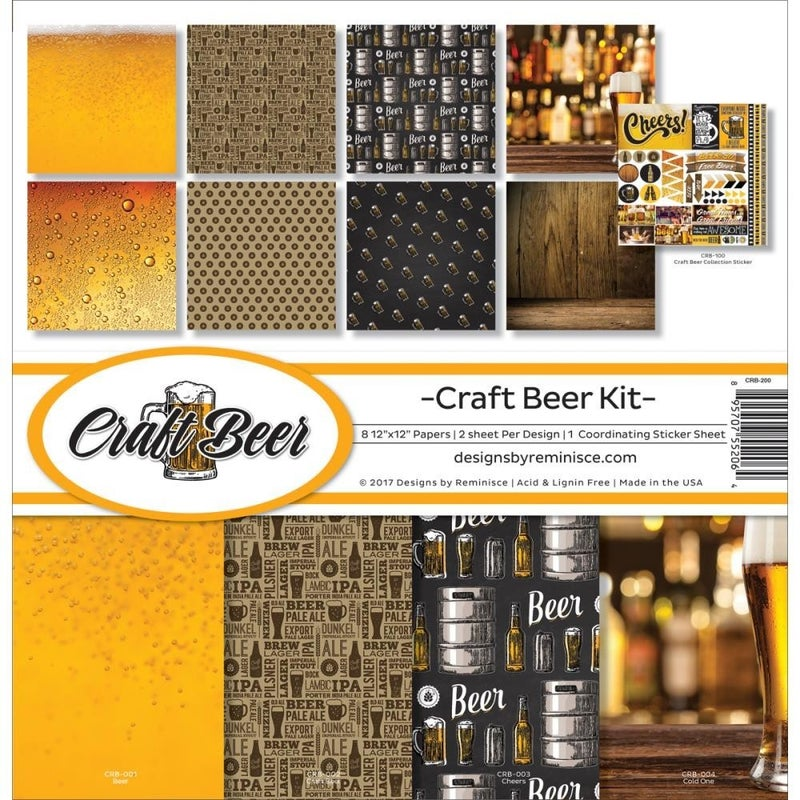 Craft Beer Paper Pack