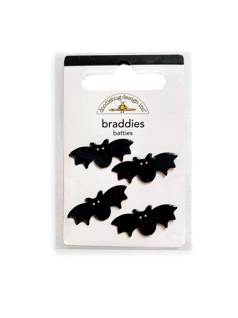 Halloween Bat Brads