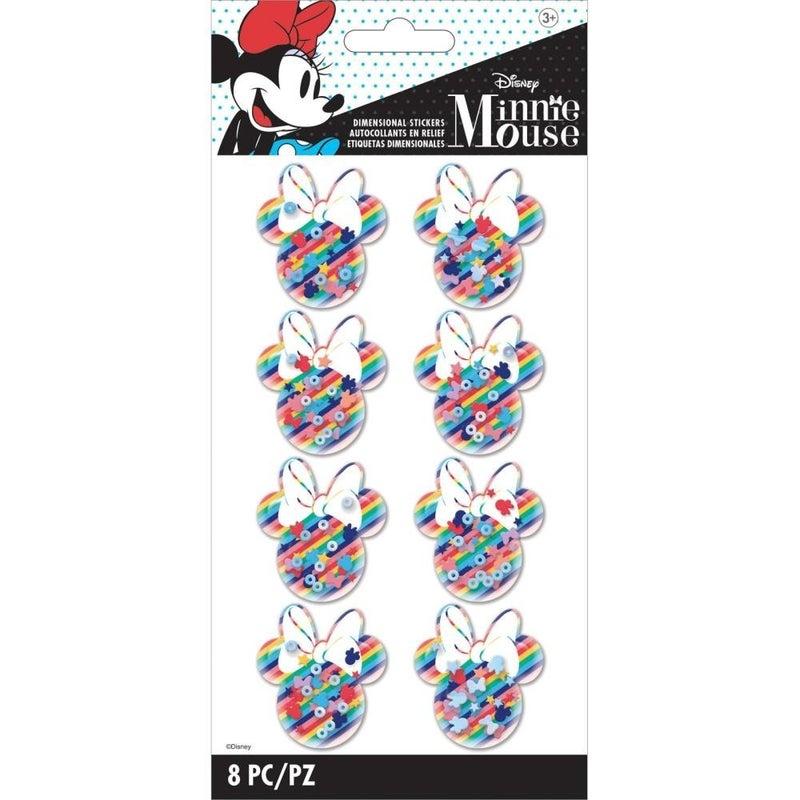 Disney Minnie Shaker Stickers
