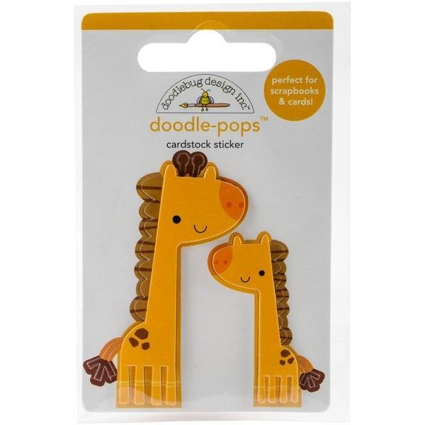 Doodle Pops 3D Sticker - Jenny & Jojo Giraffe