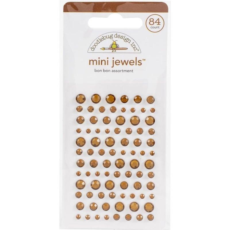 Doodlebug Mini Jewels - Bon Bon Brown