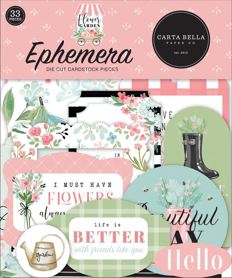 Flower Garden Ephemera