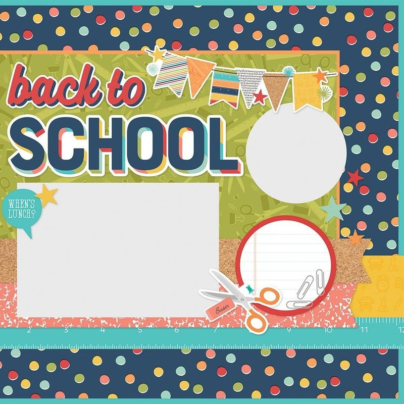 Ready, Set, Learn - School Life - Page Kit Pack