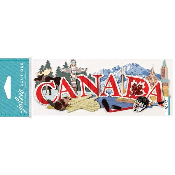 Canada 3D Title