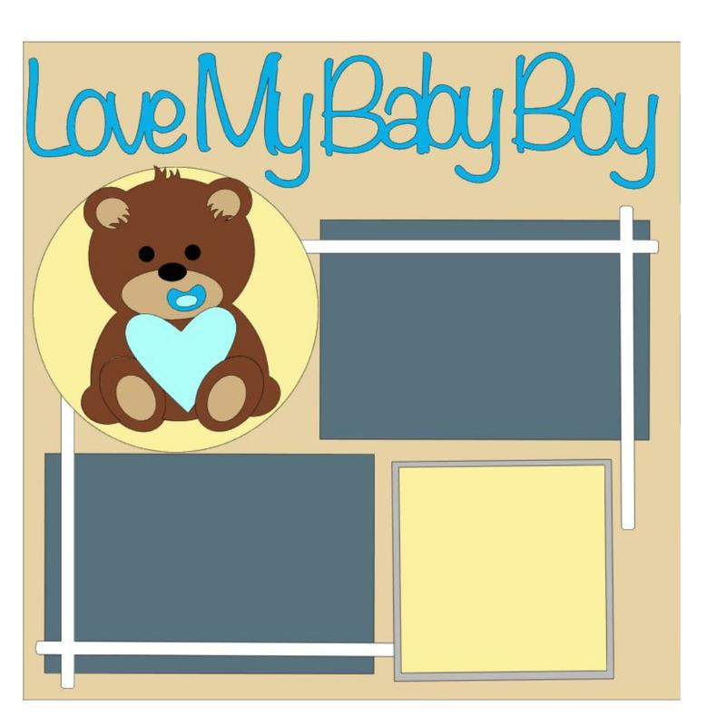 Love My Baby Boy Kit