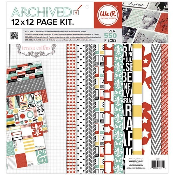 Archived 12x12 Page Kit