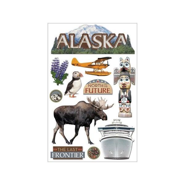 Alaska 3D Stickers