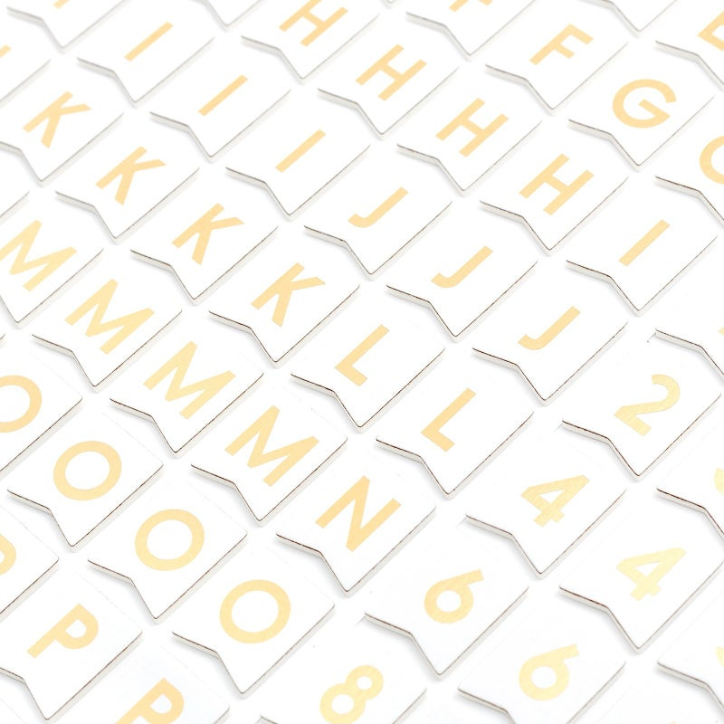 Banners Alphabet Thickers