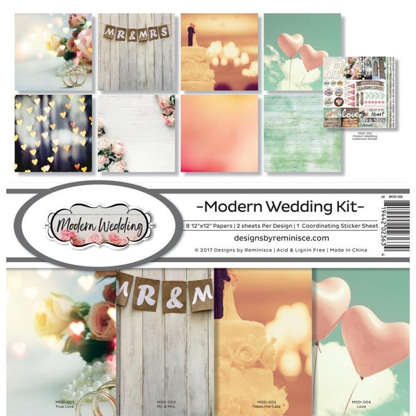 Modern Wedding Paper Pack