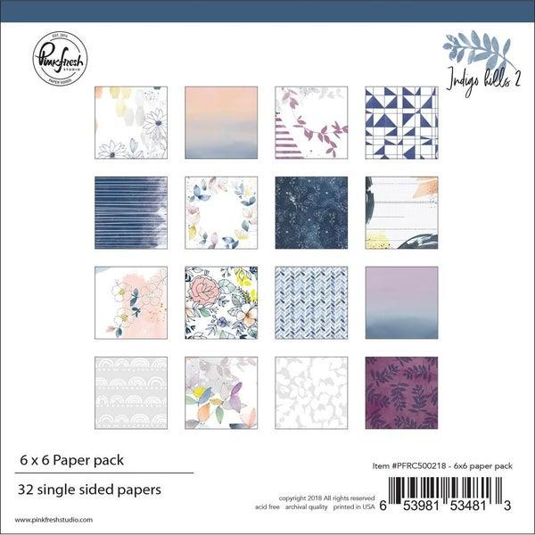 Indigo Hills 6x6 Paper Pack
