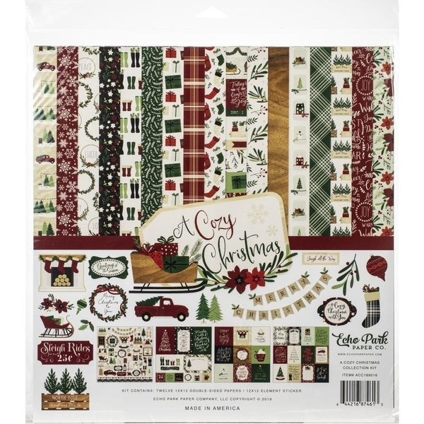 A Cozy Christmas Paper Pack
