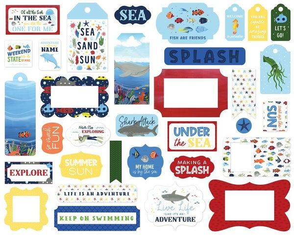 Under Sea Adventures Frames & Tags