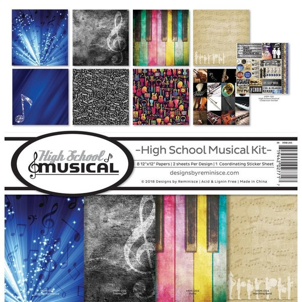 School Musical Paper Pack