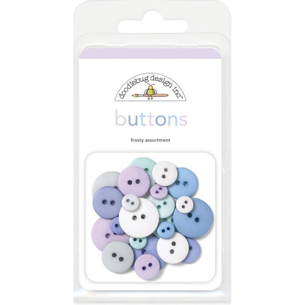 Frosty Assorted Buttons