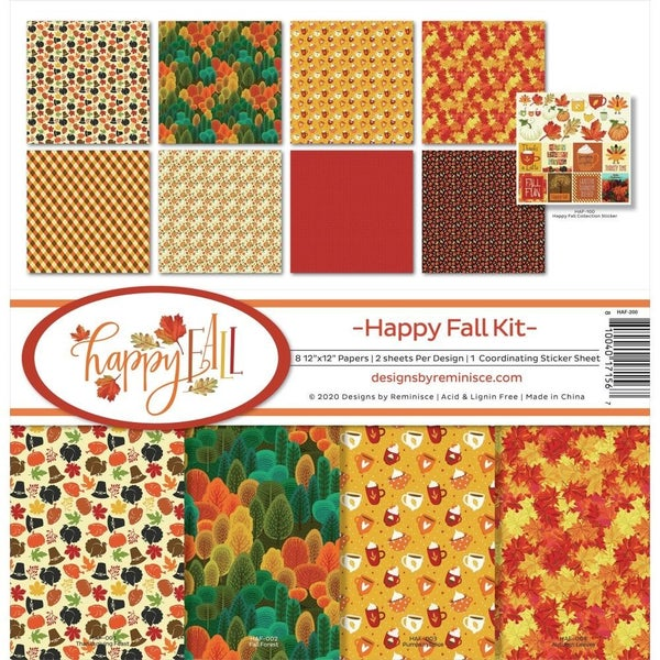 Happy Fall Paper Pack