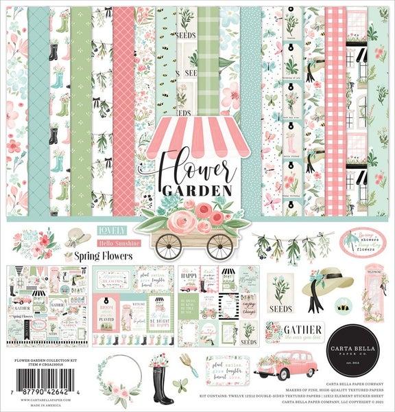 Flower Garden Paper Pack