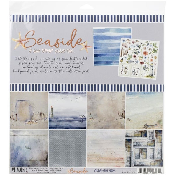 Seaside Collection 12x12 Paper Pack