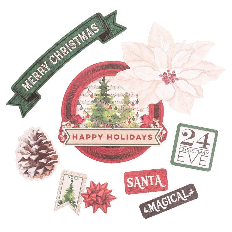 Joyful Christmas Die Cuts