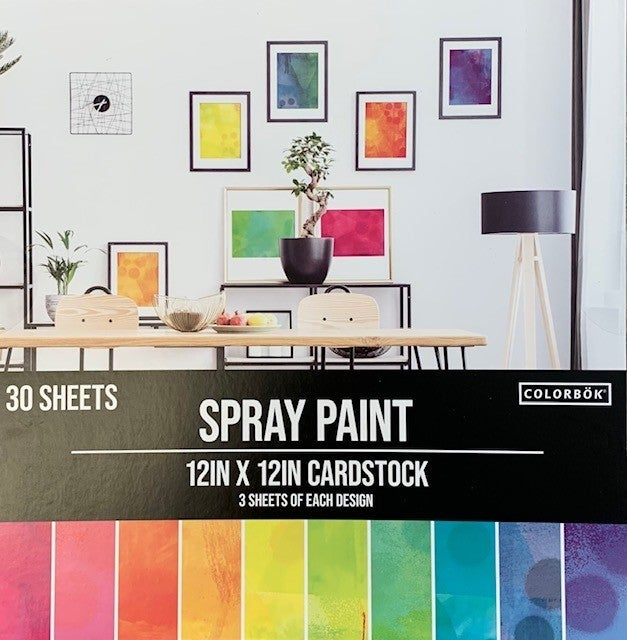 Spray Paint Paper Pad