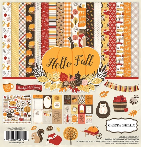 Hello Fall Paper Pack