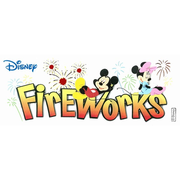 Disney Fireworks Sticker