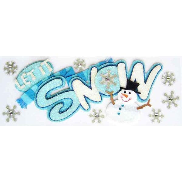 Let it Snow 3D Title