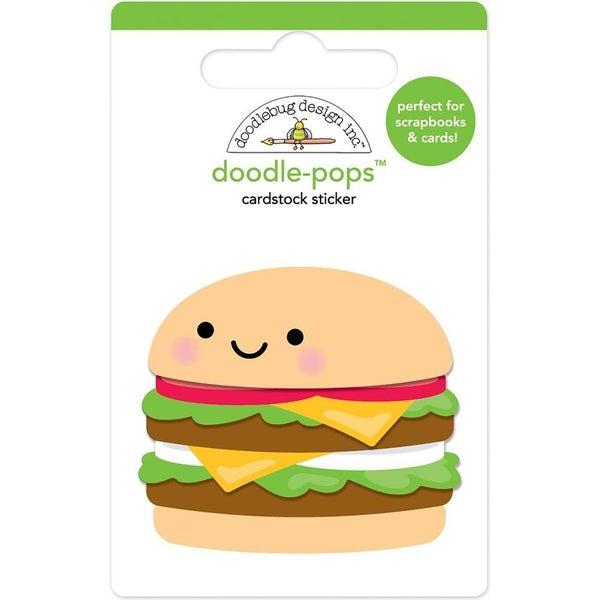 Well Done Hamburger Bar-B-Cute Doodlepop