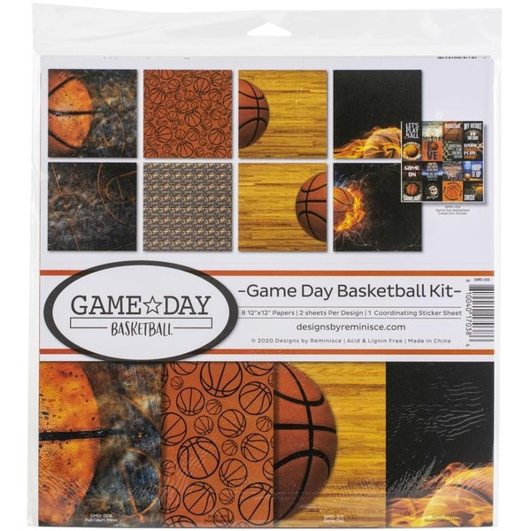 Game Day Basketball Paper Pack