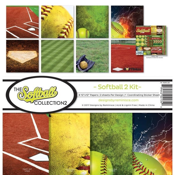 Softball Paper Pack