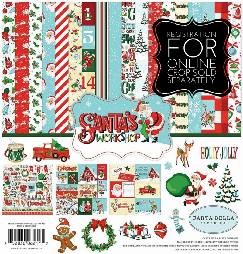 Santa's Workshop Collection Kit - Online Crop Registration Sold Separately