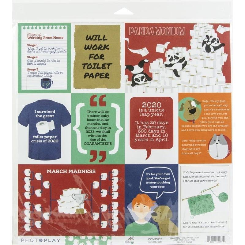 Quarantine Life Paper Pack