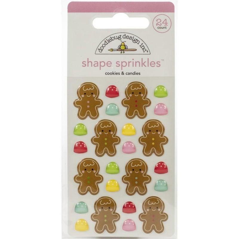 Sprinkles Epoxy Shapes - Christmas Cookies