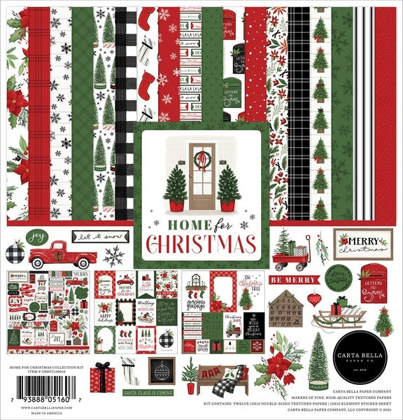 Home for Christmas Paper Pack