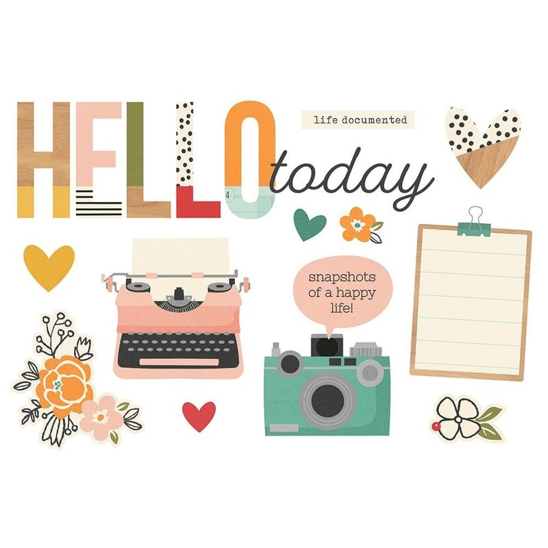 Hello Today Page Pieces