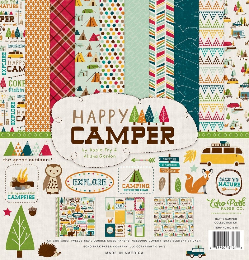 Happy Camper Paper Pack