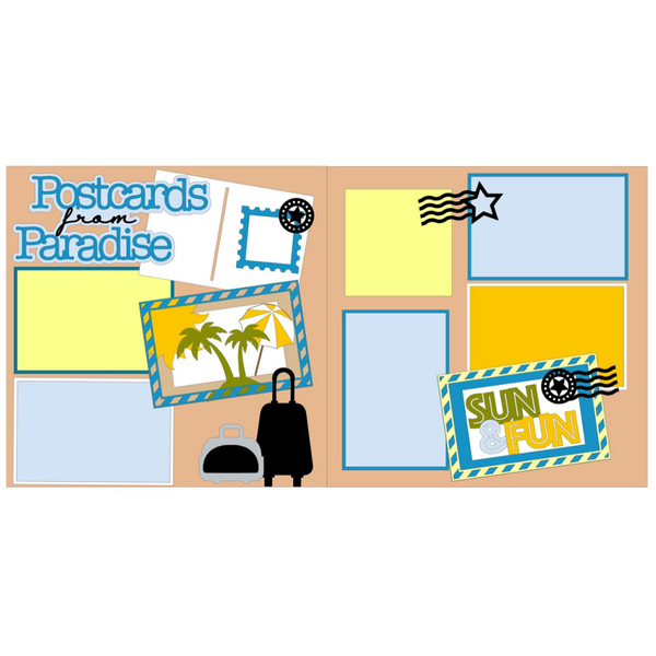 Postcards From Paradise Kit