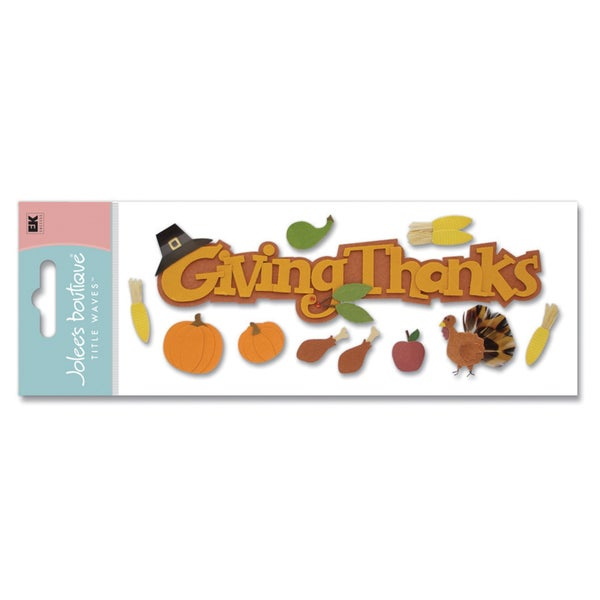 Giving Thanks 3D Title