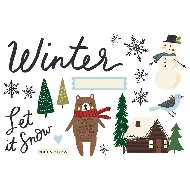 Winter Page Pieces