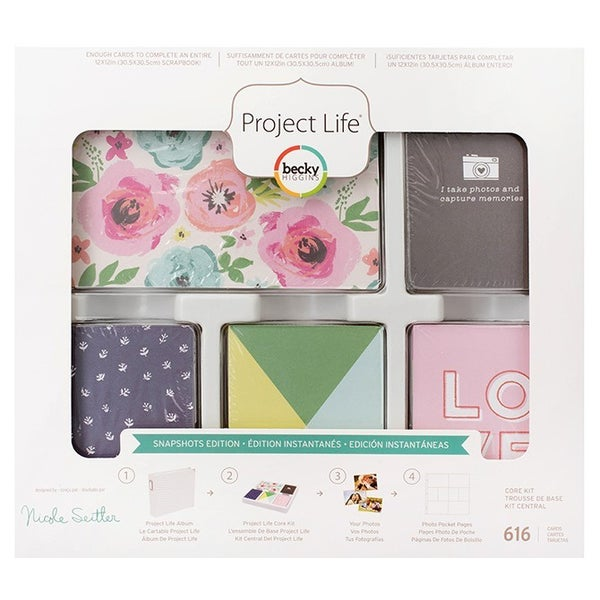 Project Life 616 pc Card Pack