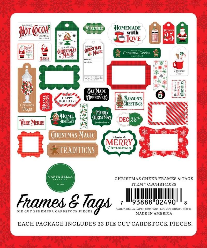 Christmas Cheer Frames & Tags