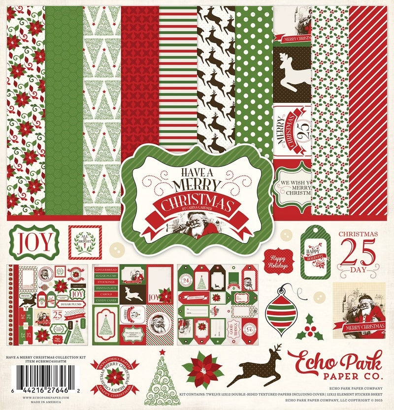 Have A Merry Christmas Paper Pack