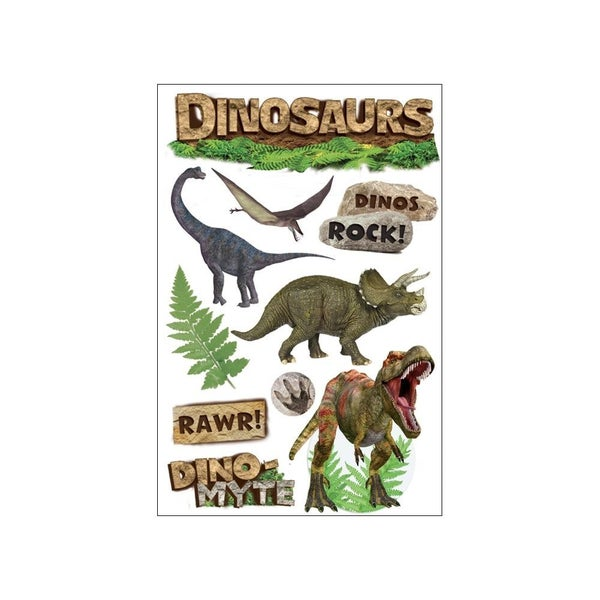 Dinosaurs 3D Stickerss