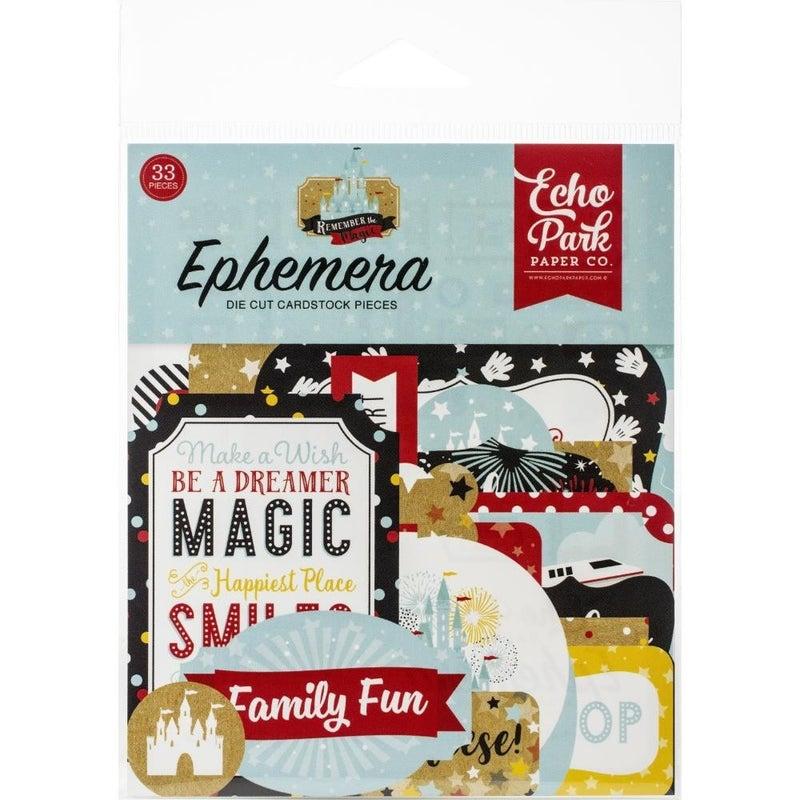 Remember the Magic Disney Ephemera