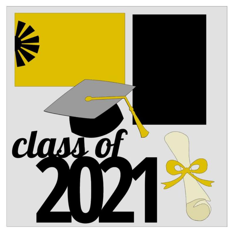 Class of 2021 Bursts Kit Graduation