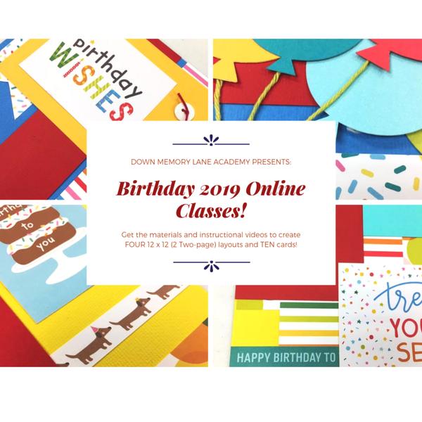 Birthday Online Class