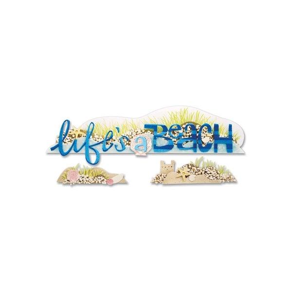 Life's a Beach 3D Title
