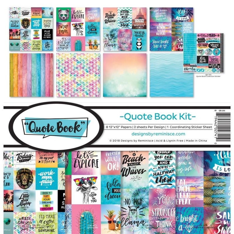 Quote Book Paper Pack